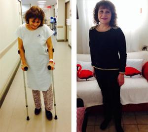 Verónica Morán antes y después
